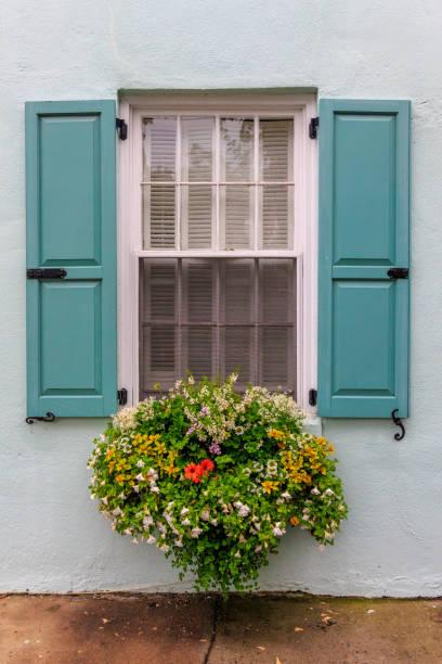 Window Flower Box - foto stock