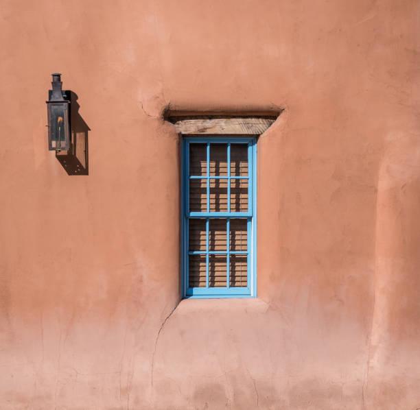 Window in Adobe Home stock photo