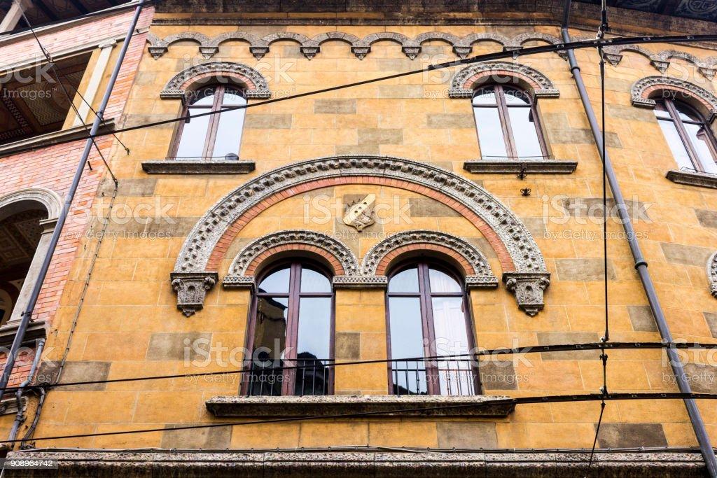 Window in Modena stock photo