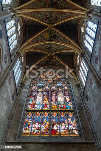 Window in the Votive Church, Vienna
