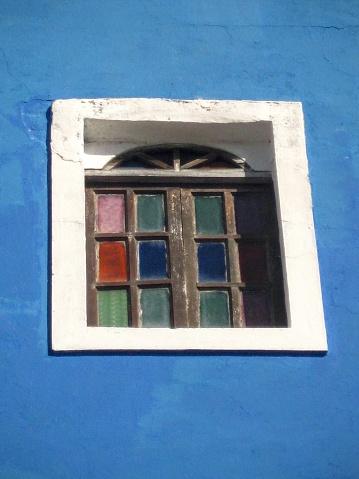 window in time, historic old san juan