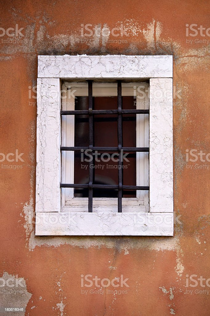 Window In Venice royalty-free stock photo