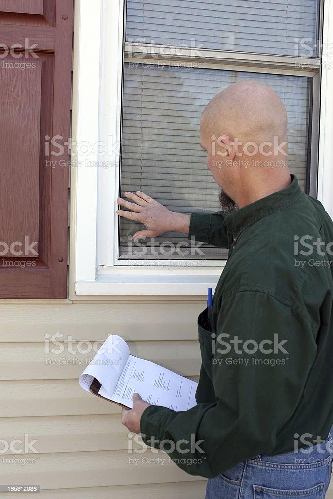 Window Inspector royalty-free stock photo