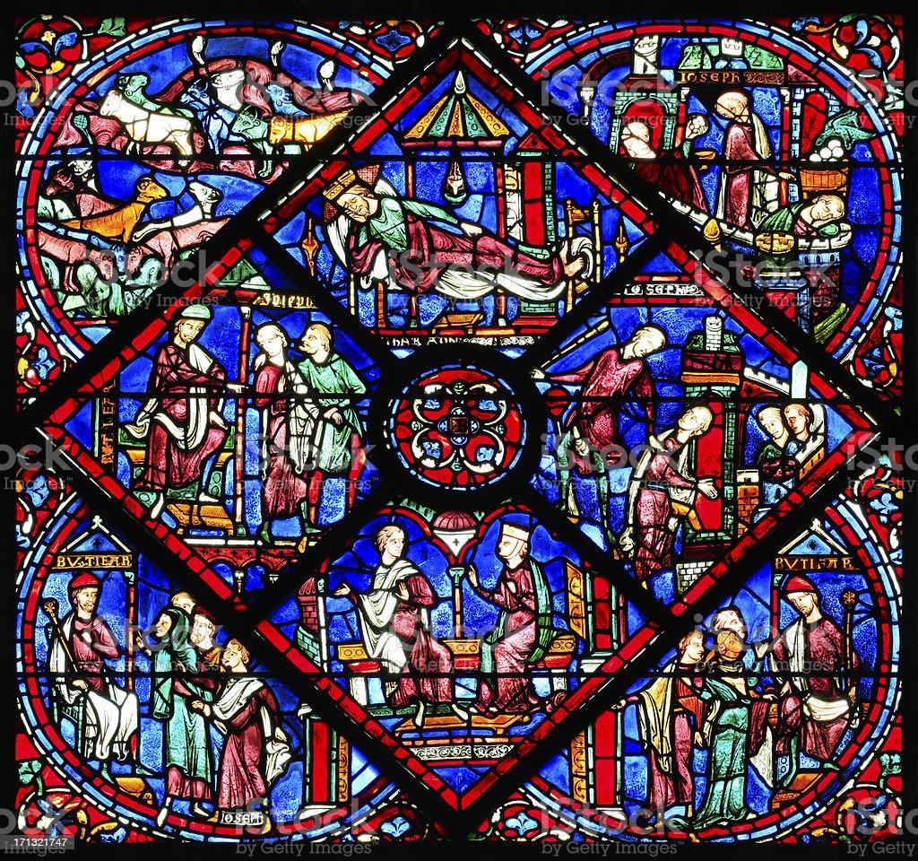 Fenster joseph 2 die kathedrale notre dame de chartres for Fenster joseph