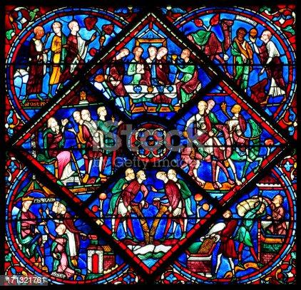 Fenster joseph 3 die kathedrale notre dame de chartres for Fenster joseph