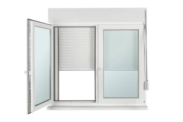 Fenster aus PVC gefertigt – Foto