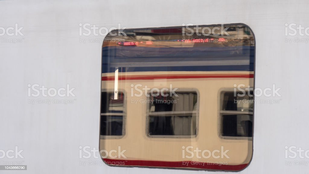 Window Of A Train Stock Photo - Download Image Now - iStock