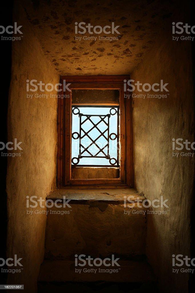 window of hope royalty-free stock photo