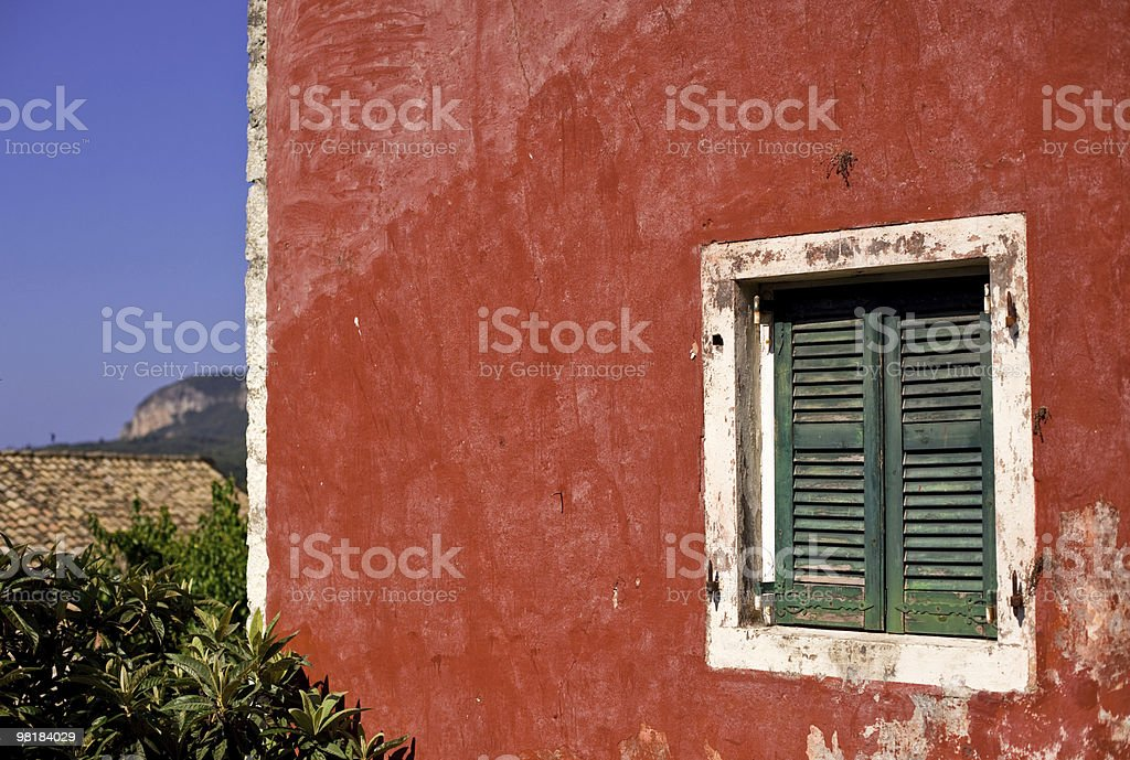 Window of old building royalty-free stock photo