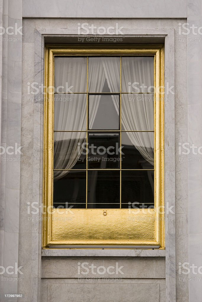 Window of Opportunity royalty-free stock photo