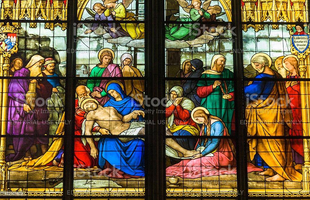 Window of the Lamentation, (c.1847) stock photo