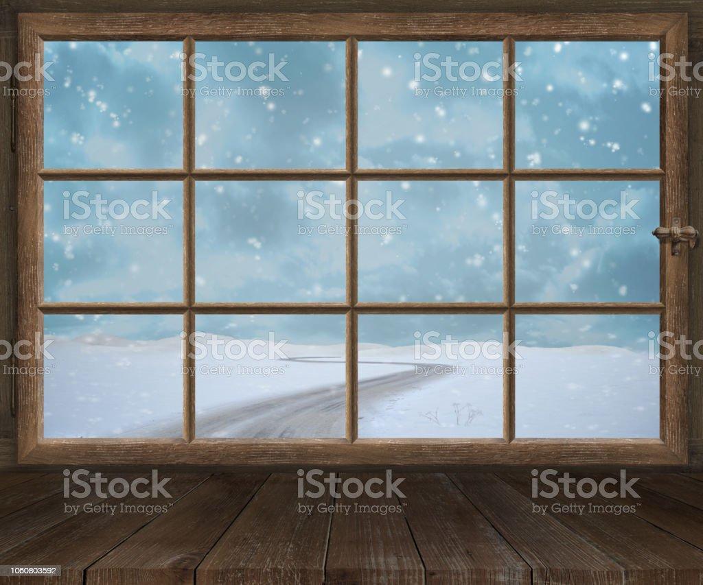 Entourage De Fenetre En Bois photo libre de droit de choux de cadre de fenêtre en bois
