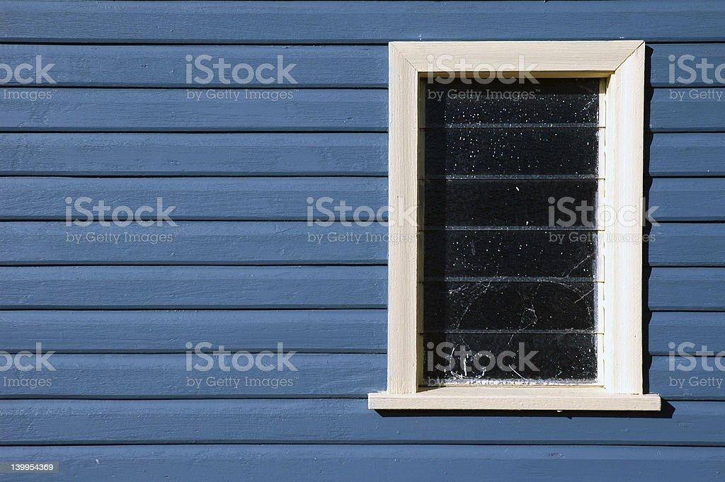 Fenêtre sur bleu - Photo