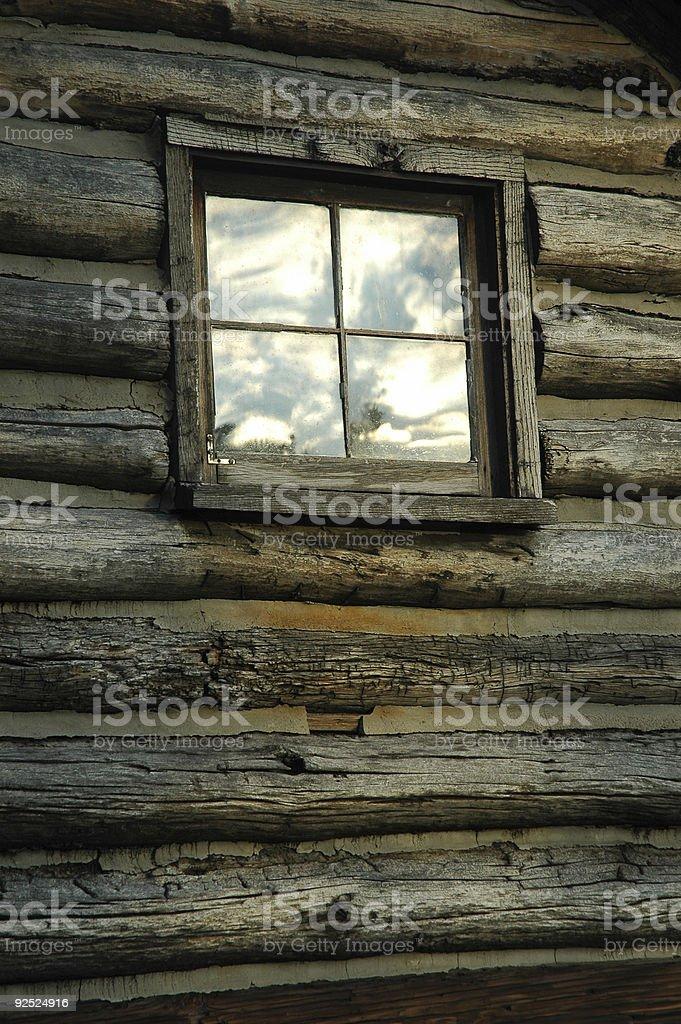Window on the Sky stock photo