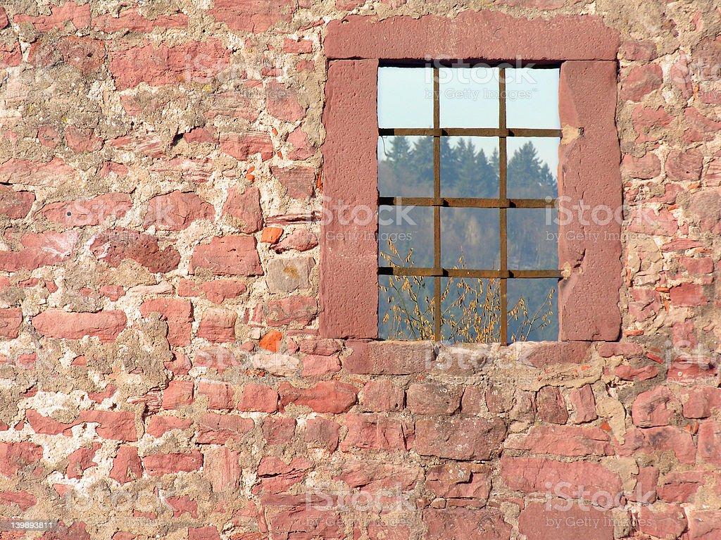 Window on the world royalty-free stock photo