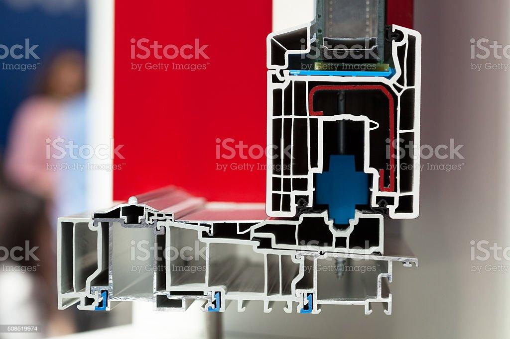 Pvc Fenster Oder Türen Profil Stock-Fotografie und mehr Bilder von ...