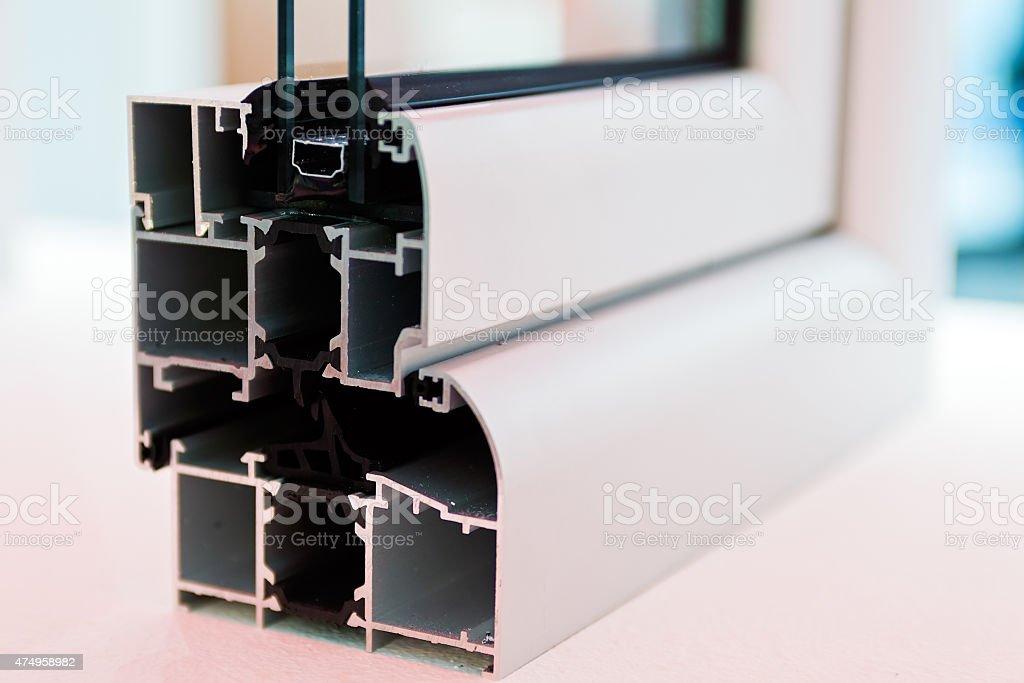 window profile stock photo