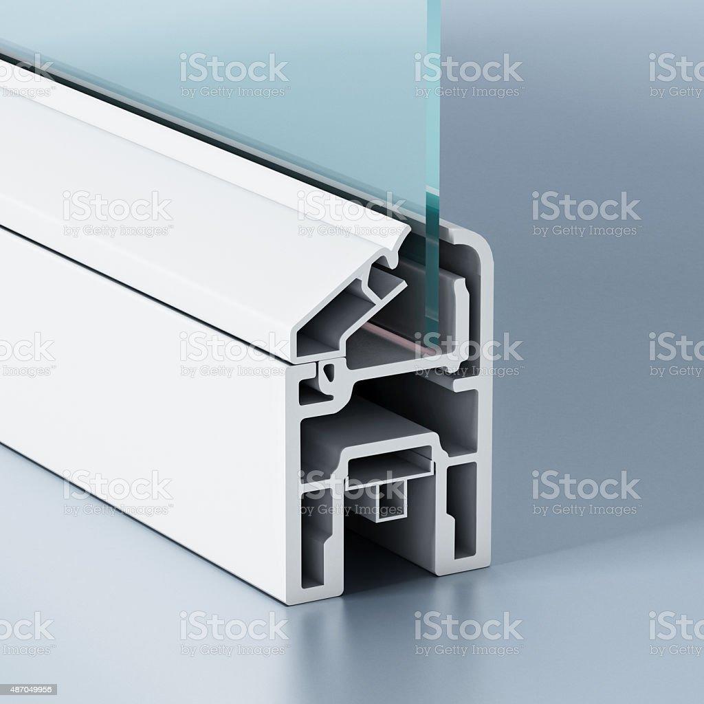 PVC finestra Profilo - foto stock