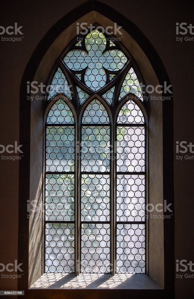Window - Schaffhausen stock photo