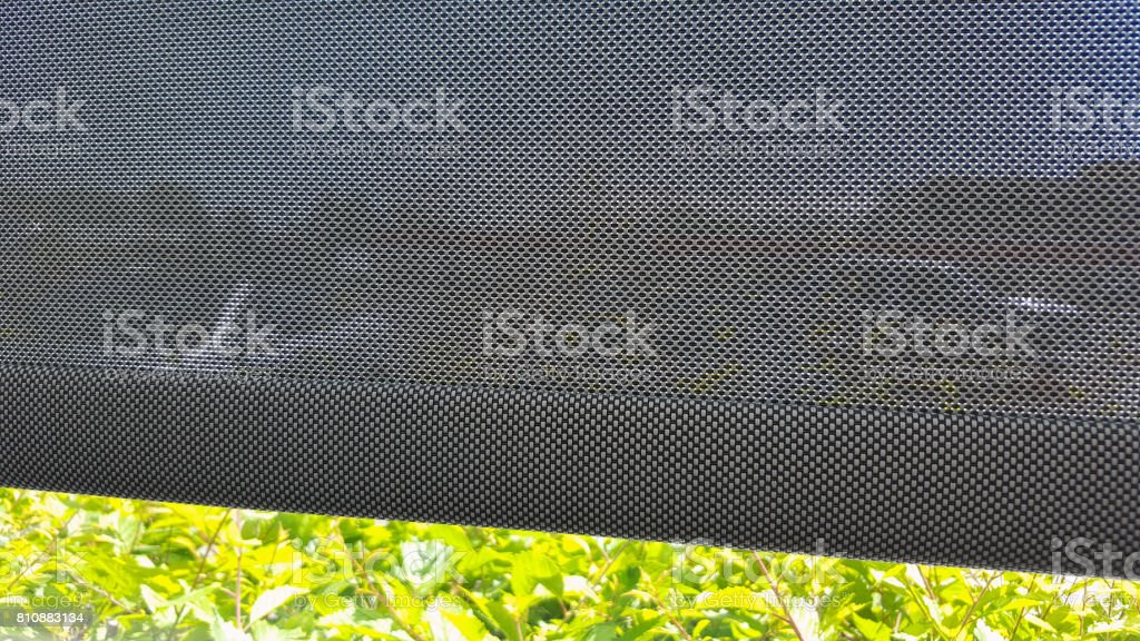 Window Shades To Keep Out The Heat And Bright Sunlight stock photo