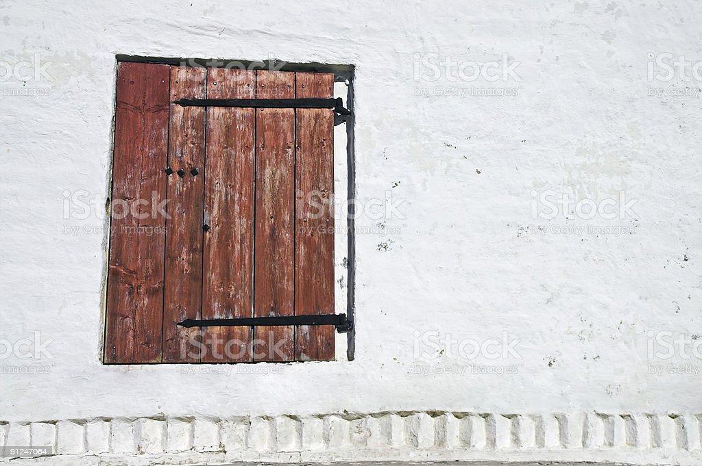 Window Shutter royalty-free stock photo