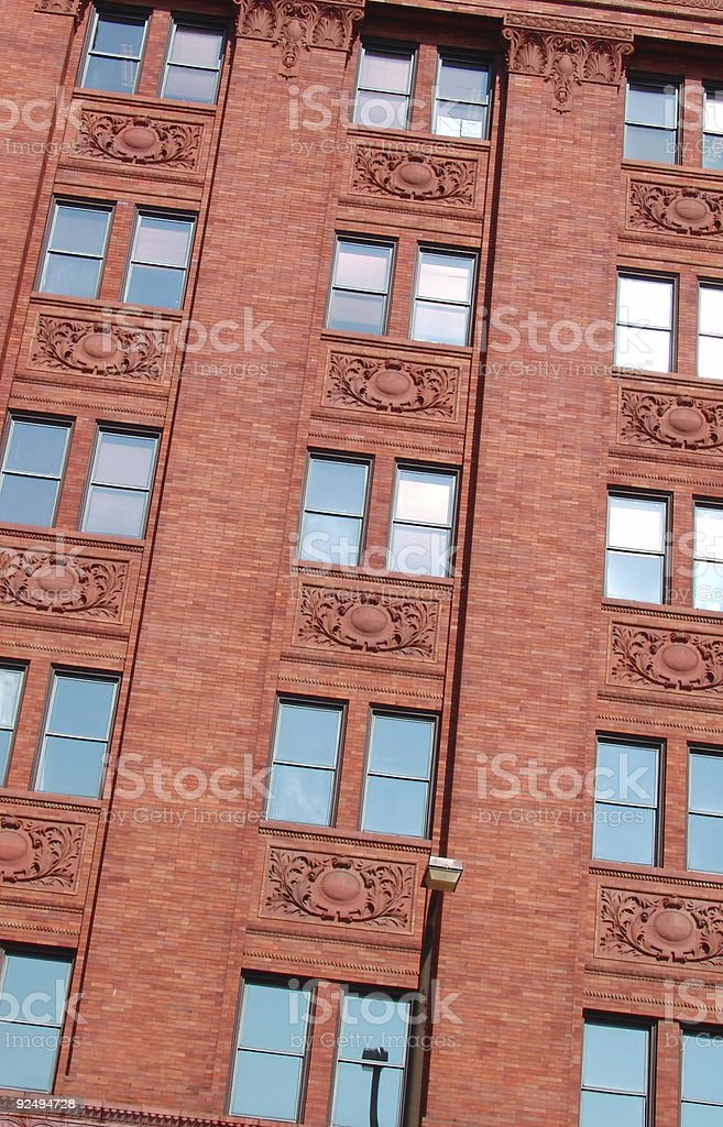 Fenster Arbeitszimmer Lizenzfreies stock-foto