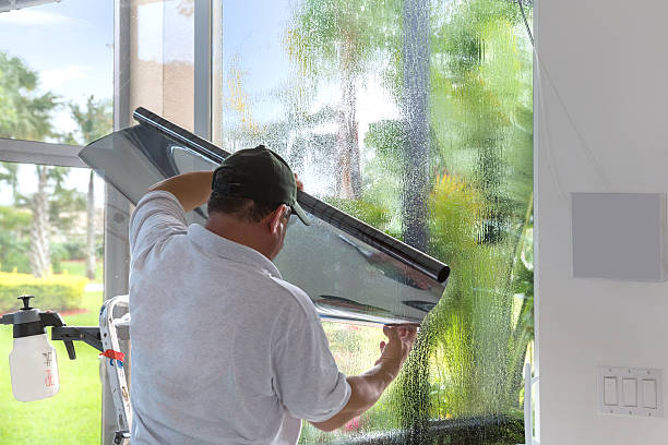 Window Tinting Window tinting in Florida where the sun makes the house very hot and fades furniture toned image stock pictures, royalty-free photos & images