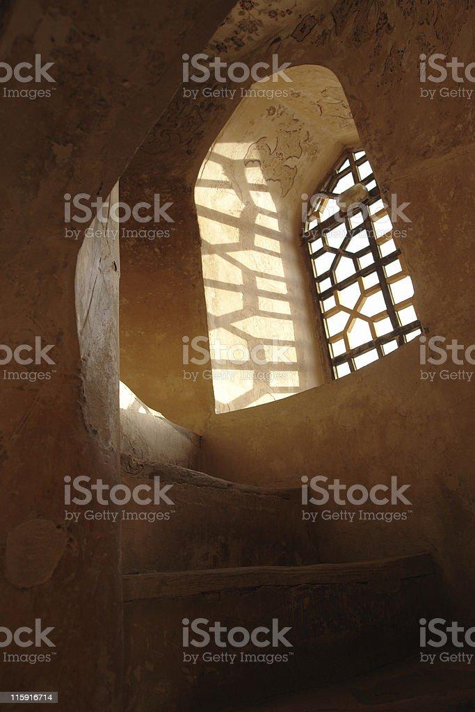 Window to History royalty-free stock photo