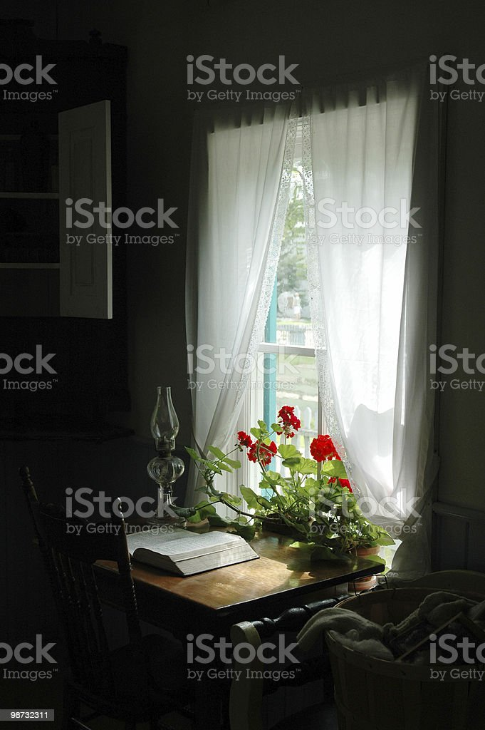 window to past royalty-free stock photo