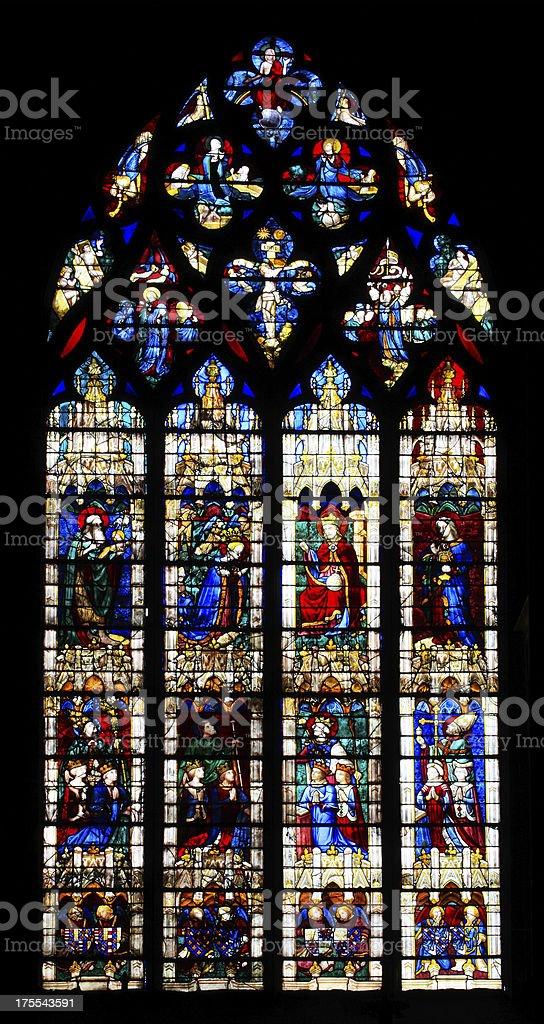 Window Vendome stock photo