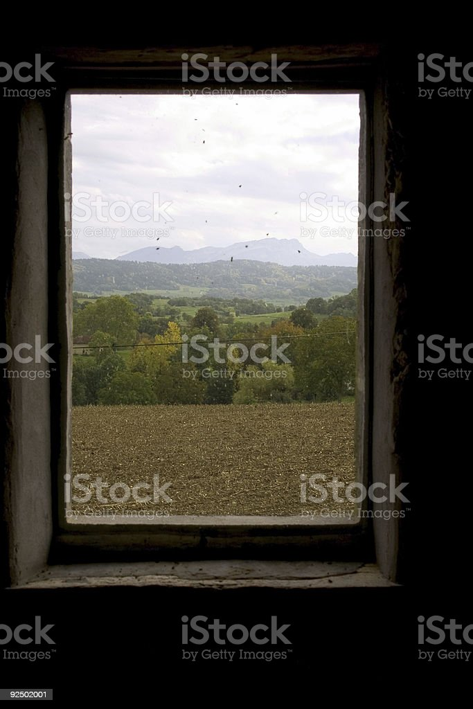 Window View royalty-free stock photo