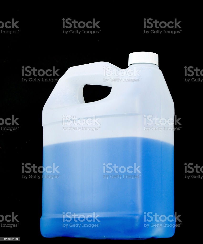 Window Washer Fluid royalty-free stock photo