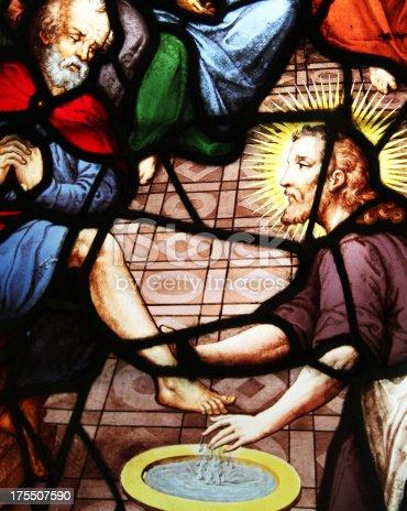 istock Window Washing the Feet, Church Saint-Etienne-du-Mont, Paris, 175507590