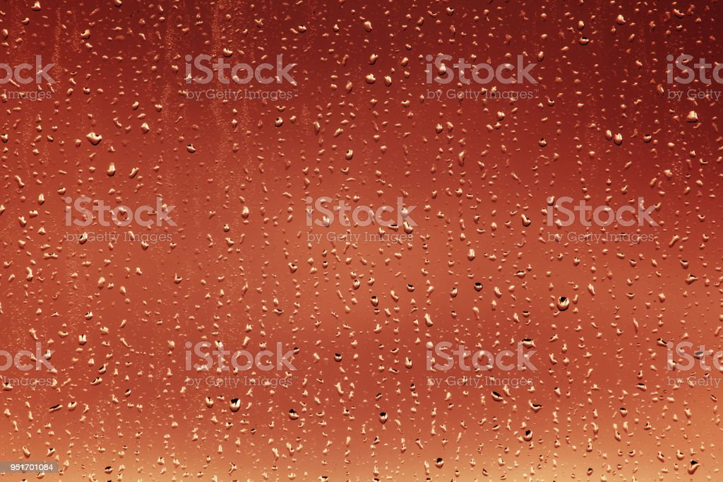 Window water drops background stock photo