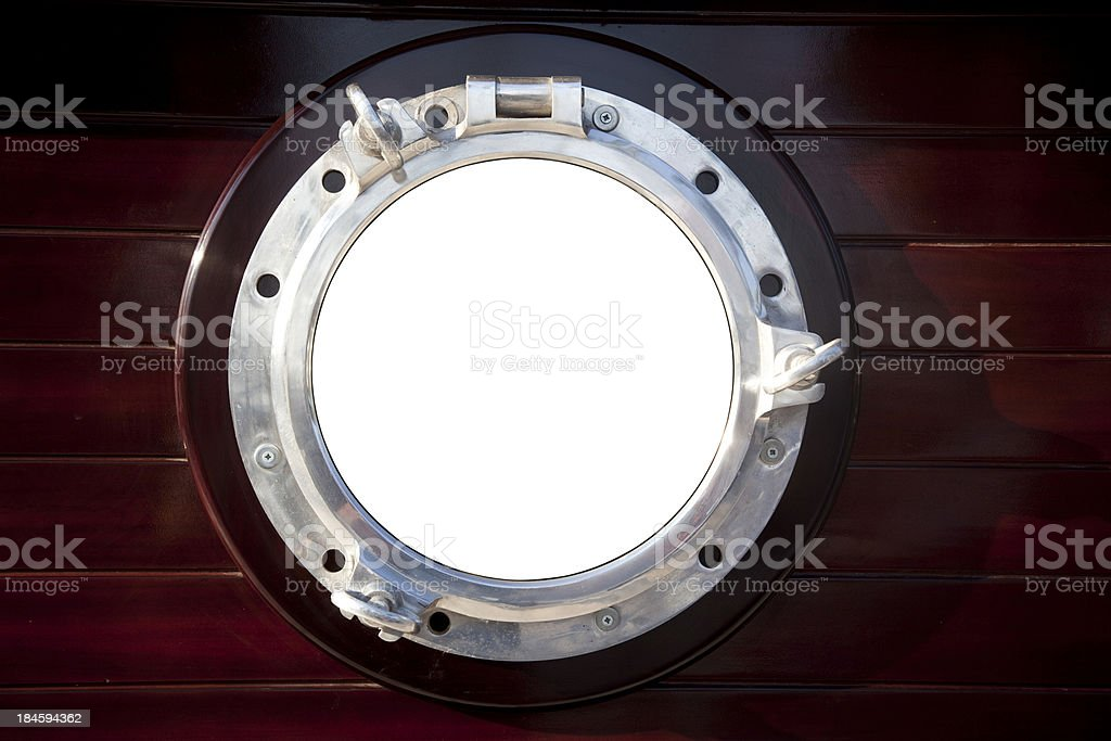 Window with Clipping Path royalty-free stock photo