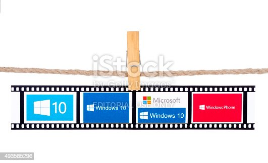 istock Windows 10 the operating system developed by Microsoft 493585296