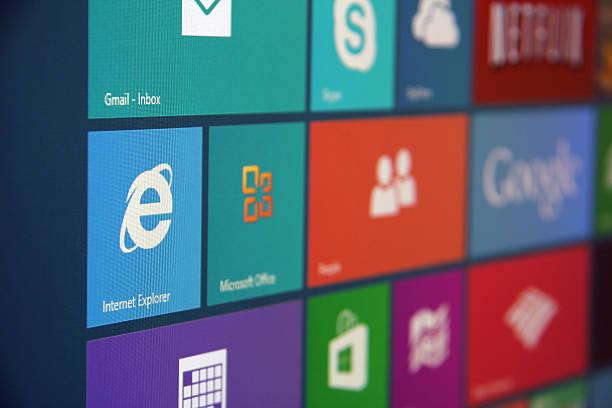 windows 8 ab - microsoft windows stock-fotos und bilder