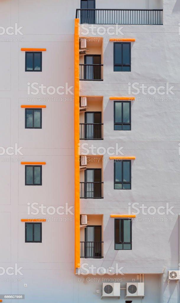 windows and doors apartment condominium. Lizenzfreies stock-foto