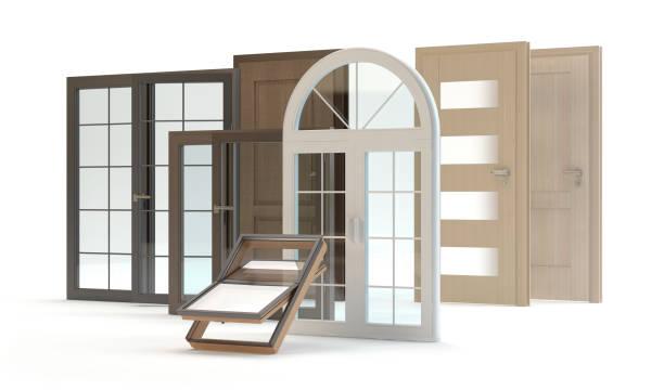 Fenster und Türen Sammlung – Foto