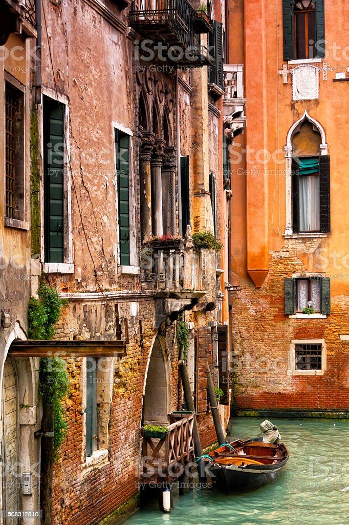Fenster Und Wände In Grand Kanal In Venedig Italien Stock-Fotografie ...