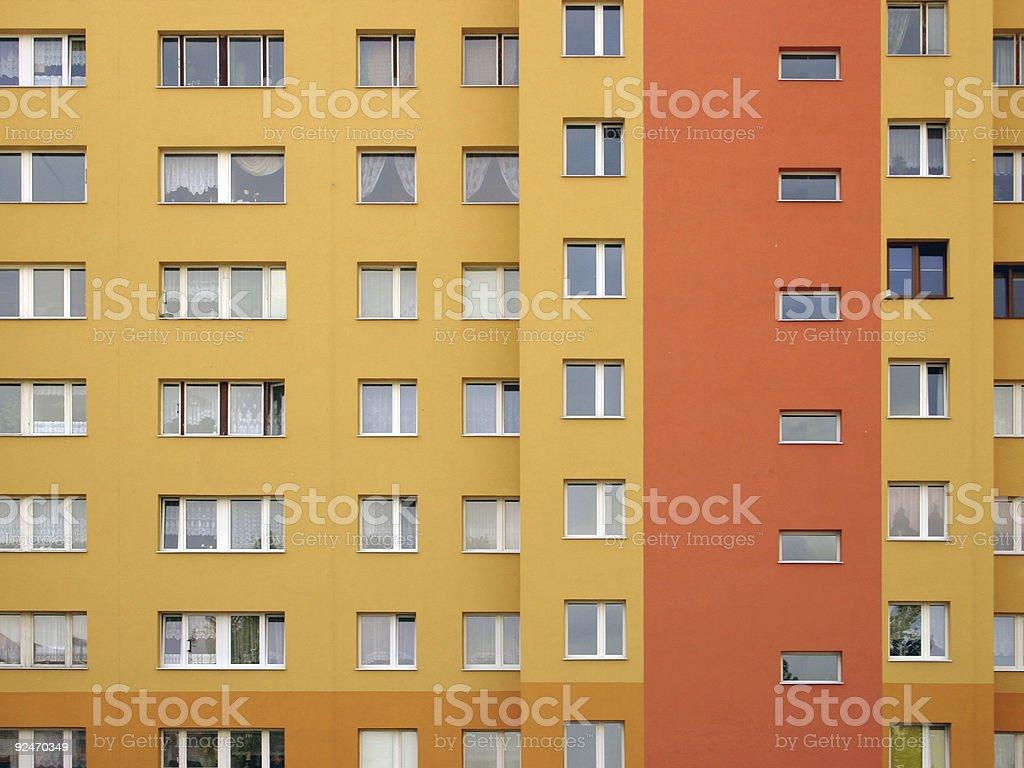 Windows array royalty-free stock photo