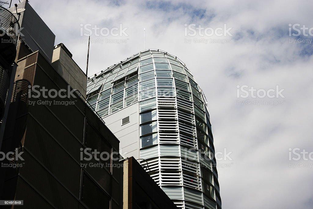Windows building royalty-free stock photo