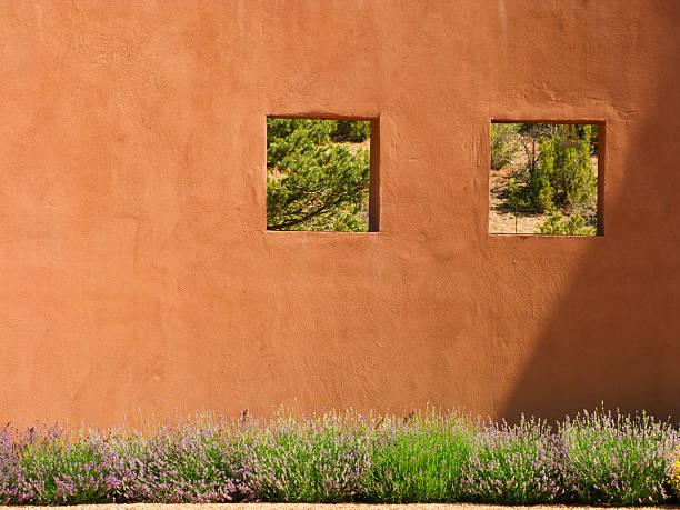 fenêtres dans le jardin - adobe photos et images de collection