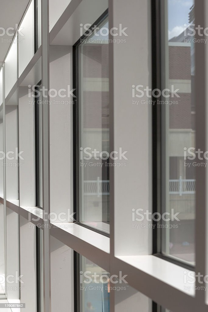 Windows In Perspective stock photo