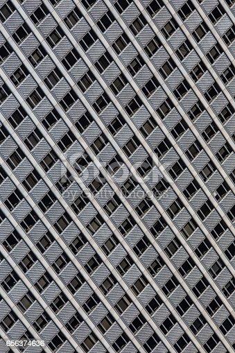 istock Windows of a modern office building. 656374636