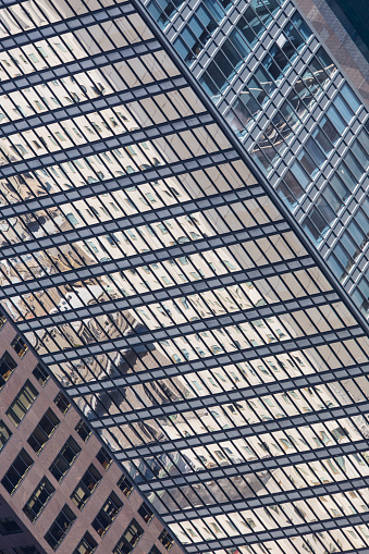 istock Windows of a modern office building. 656374748