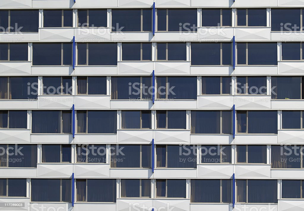Windows of modern building royalty-free stock photo
