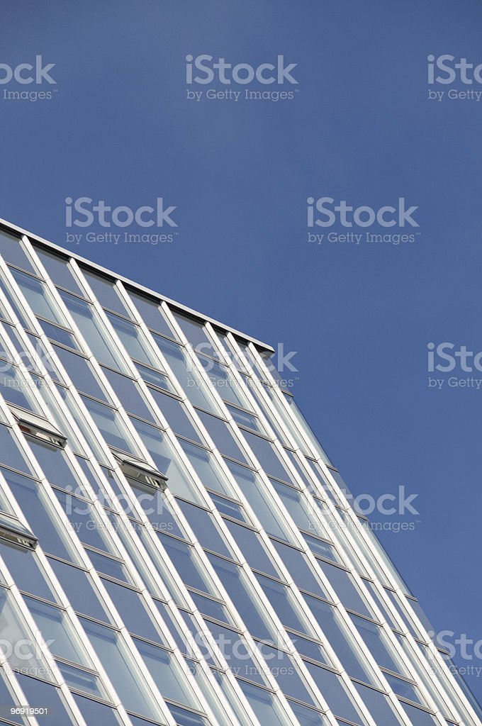 windows of office buildings royalty-free stock photo