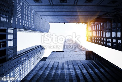 istock Windows of Skyscraper Business Office 847255994