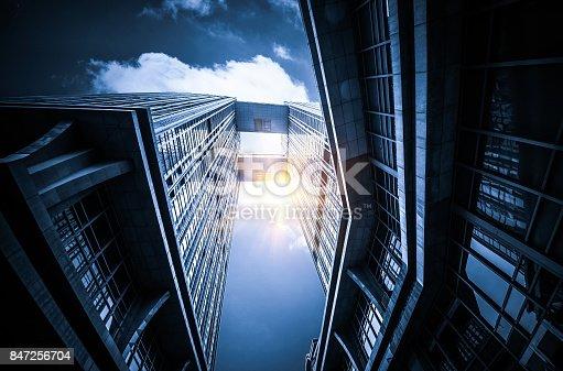 istock Windows of Skyscraper Business Office 847256704